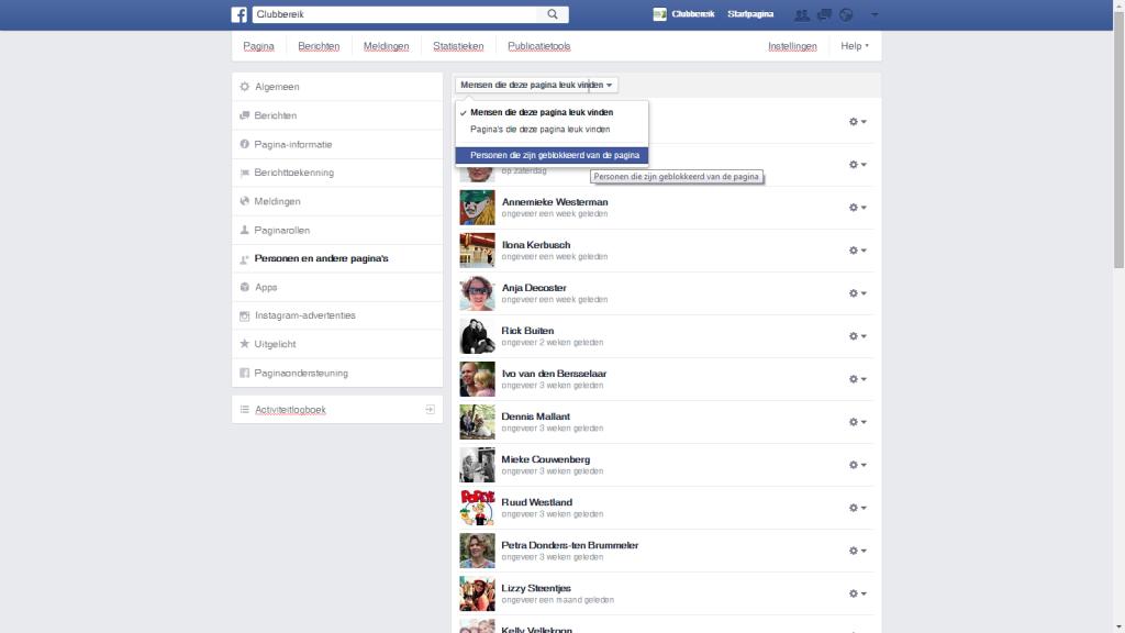 Blokkeren - FB2